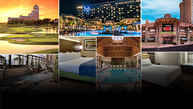 various mychoice destinations and amenities
