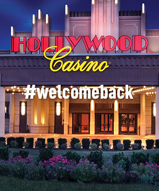 #welcomeback Hollywood Casino Joliet